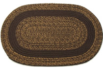 Dark Wicker Tweed - Dark Brown Band