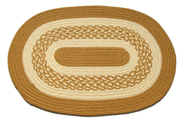 river shale oval braided rug 20