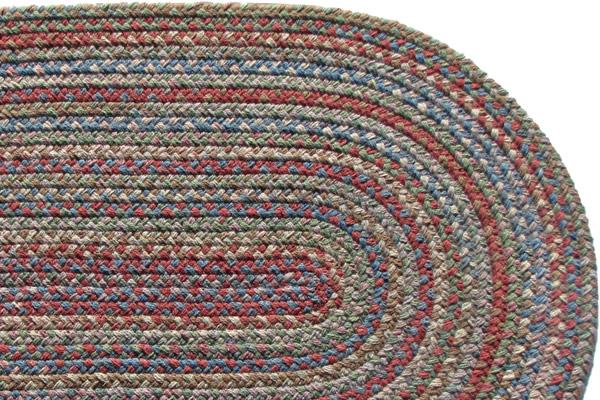 Highland Jubilee Wool Braided Rug