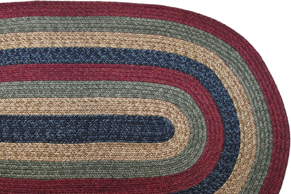 California Country Sunset Braided Rug