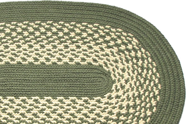 James River Sage Braided Rug